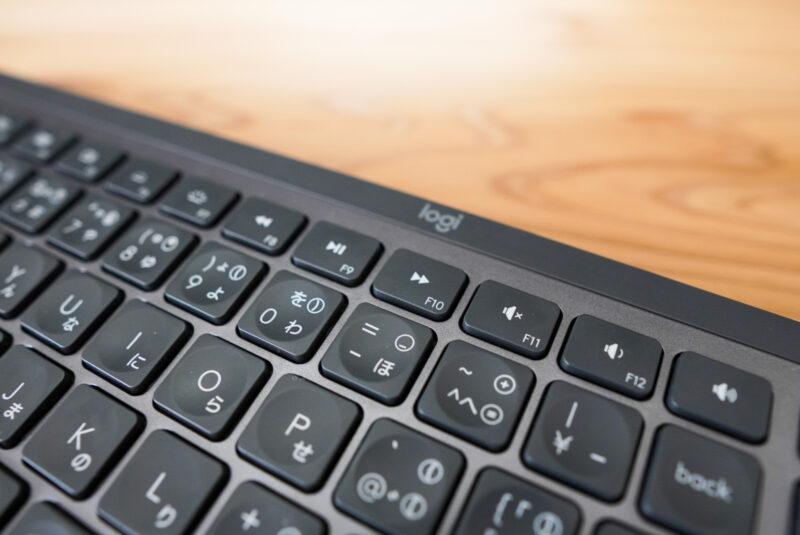 MX keysのファンクションボタン