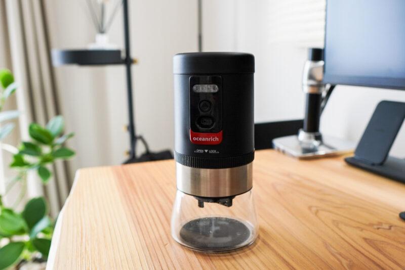 oceanrichの電動コーヒーミル