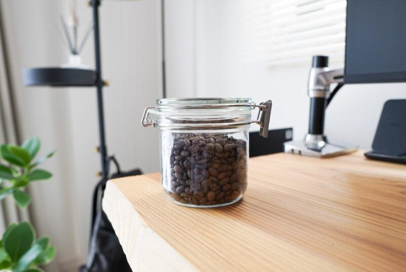 無印良品のコーヒーキャニスター
