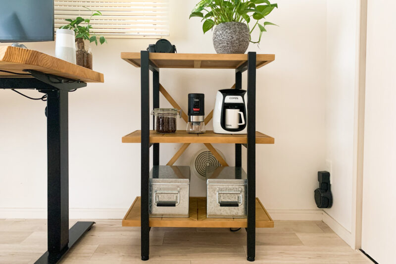 自宅のカフェコーナー完成