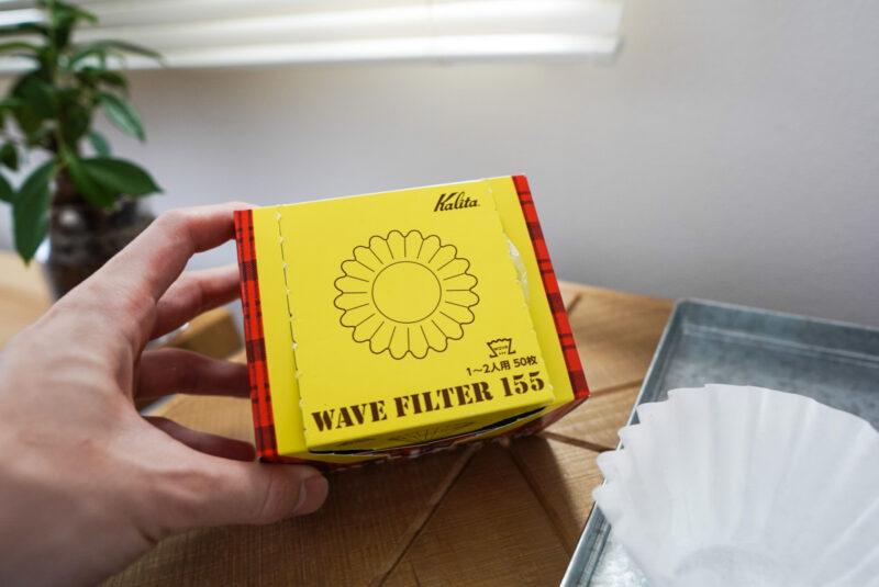 コレスの1杯用コーヒーメーカーにシンデレラフィットするペーパーフィルター