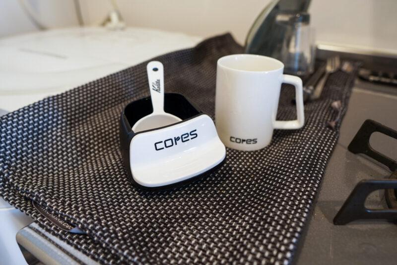 コレスの1杯用コーヒーメーカーのお手入れ